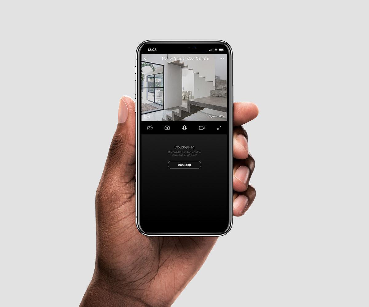 smart security camera with 2-way audio