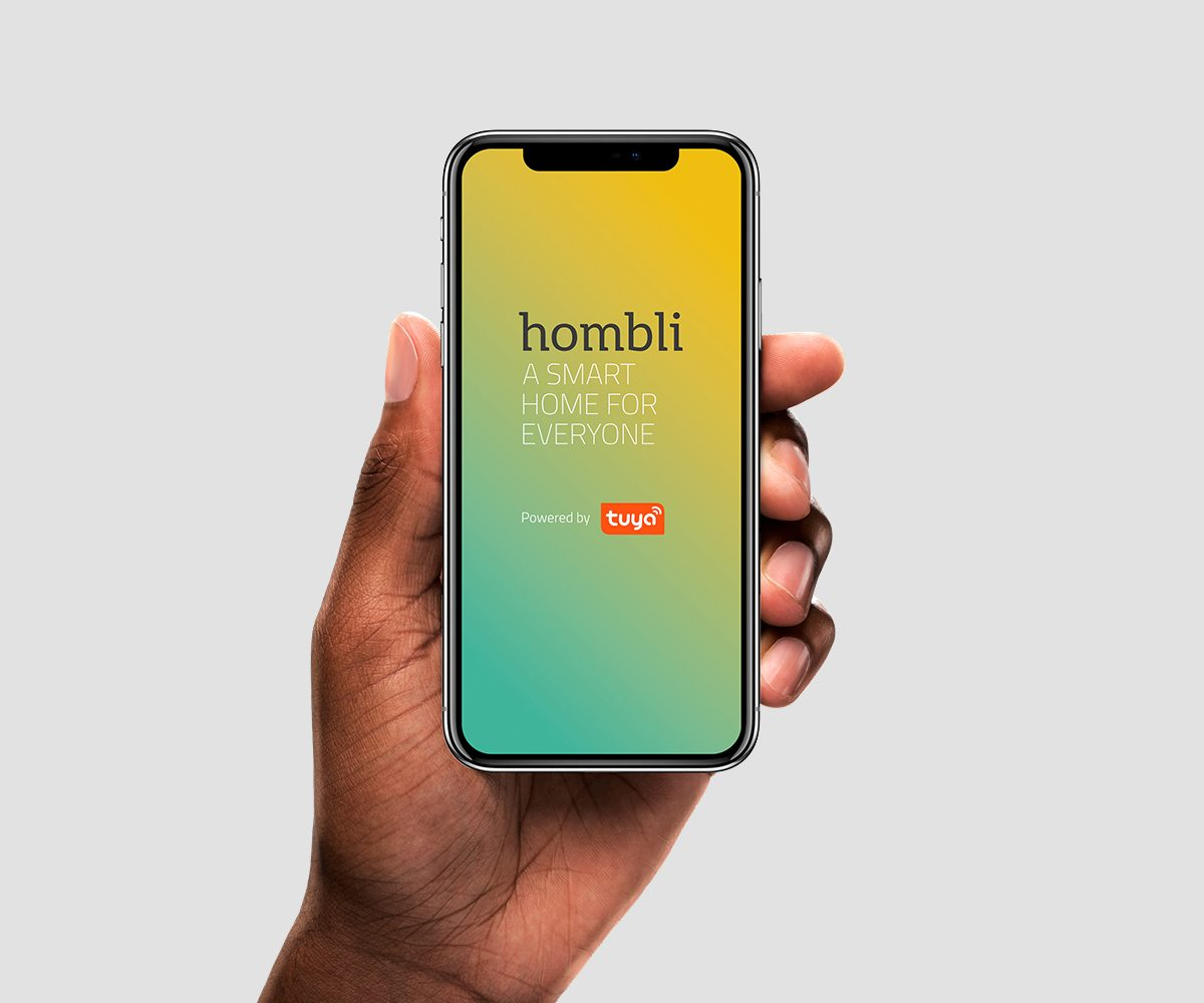 control with hombli smart life app