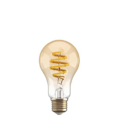 Amber Filament bulb regular A60