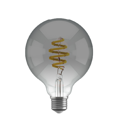 Smokey Filament Bulb Globe G95 LED